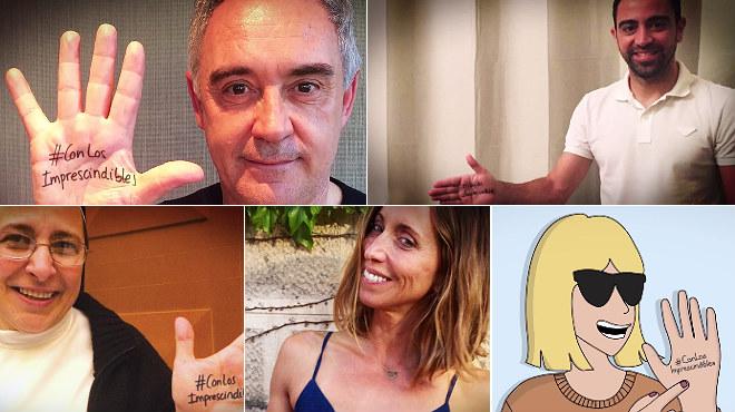 La Caixa llança la campanya #AmbElsImprescindibles amb cares famoses com les de Ferran Adrià i Xavi Hernàndez, per reconèixer la tasca social de persones i entitats.