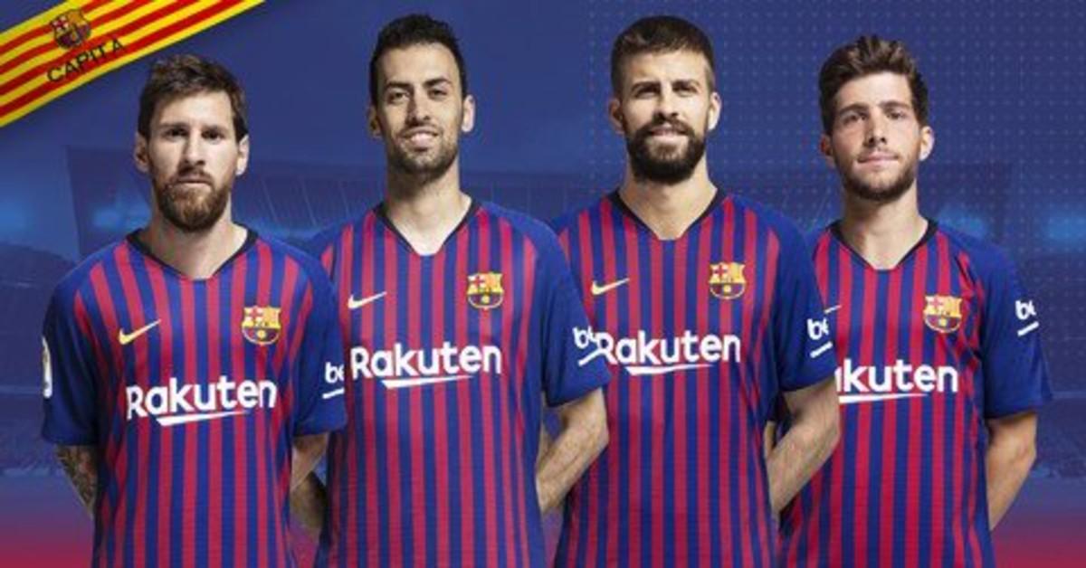 Los cuatro capitanes.