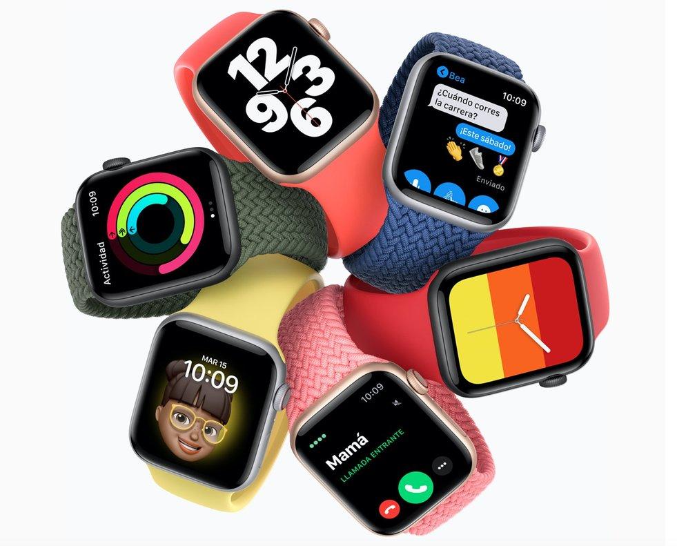 Nuevo Apple Watch Series 6.