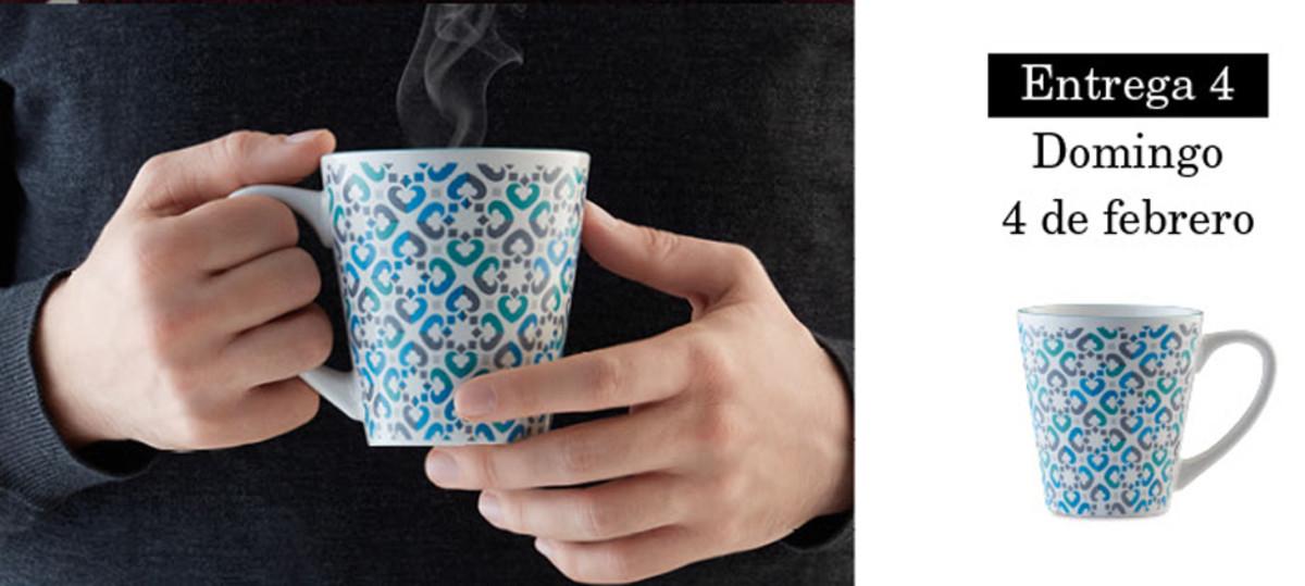 Colección de tazas modernistas de Pilma. Entrega 4
