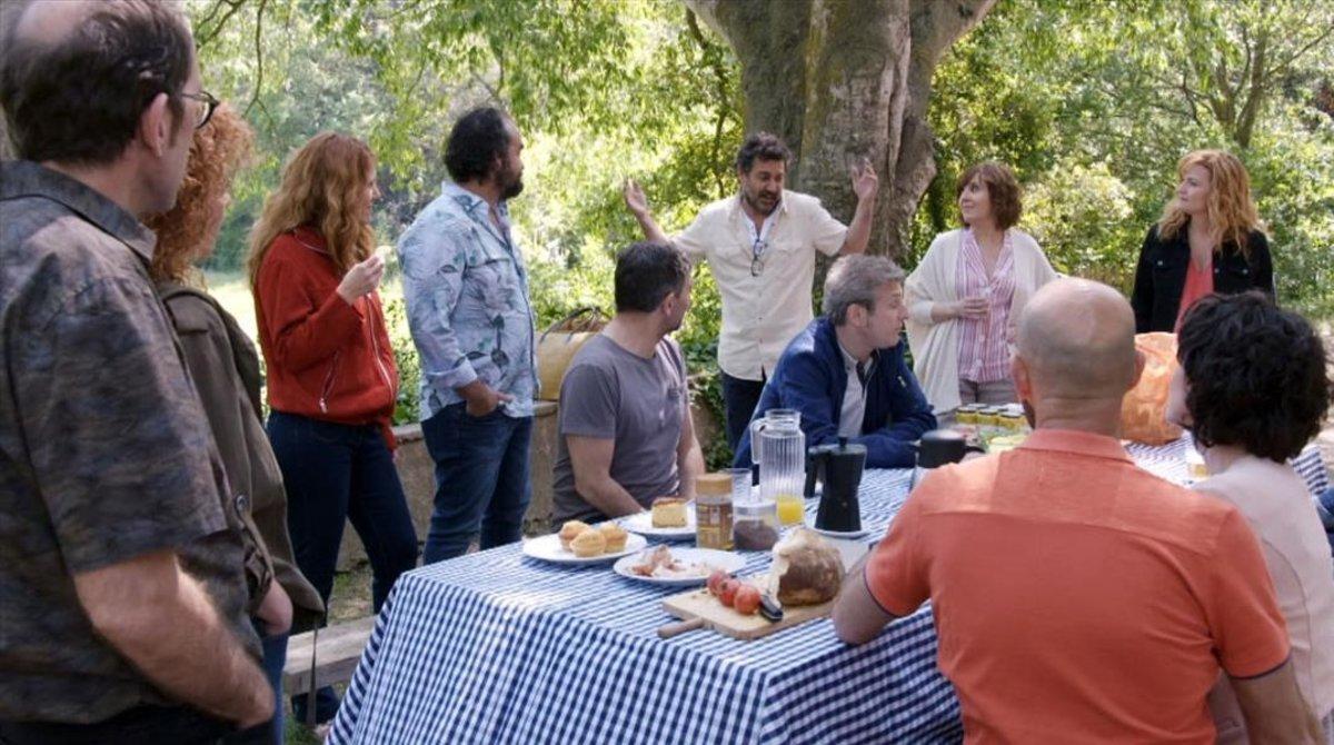 Una imagen de la serie 'Com si fos ahir' (TV-3).