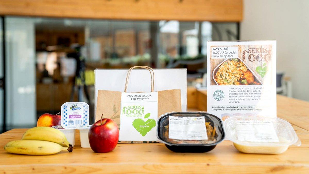 Més ajuts de menjador escolar per al curs 2020-2021