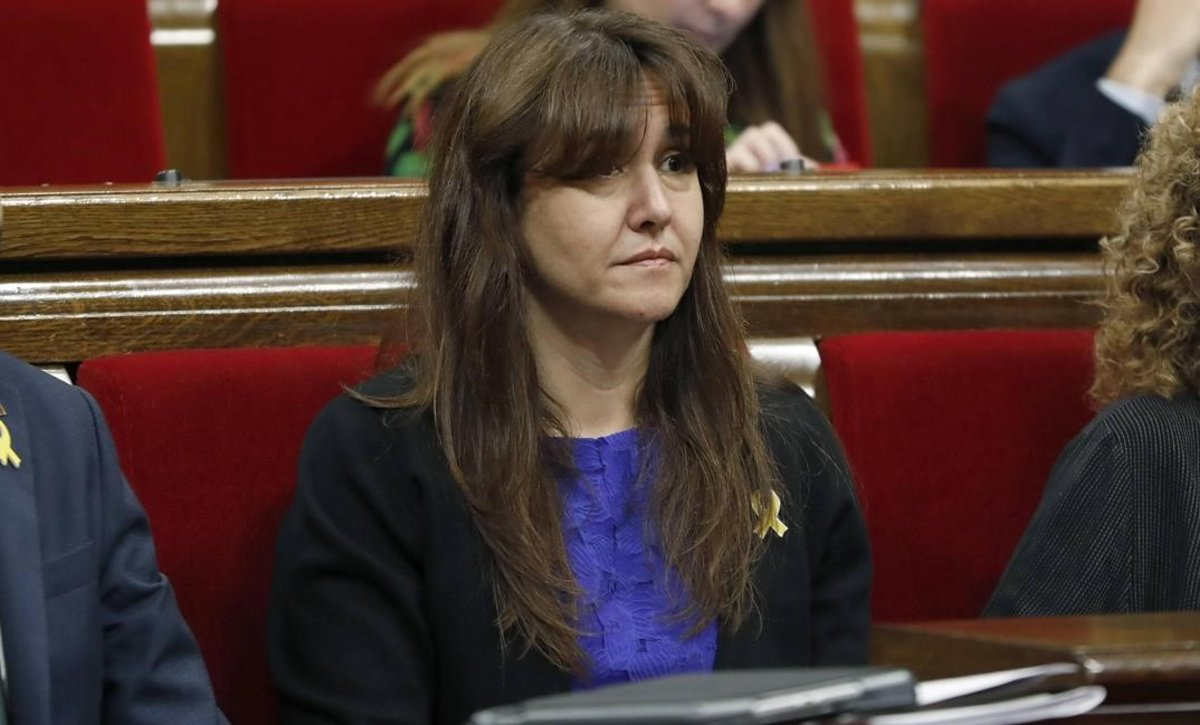 La consellera de Cultura, Laura Borràs.