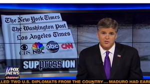 El controvertido periodista de la cadena Fox Sean Patrick Hannity.