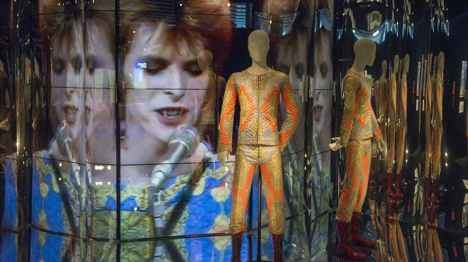 David Bowie, protagonista de la gran exposició al Museu del Disseny de Barcelona.