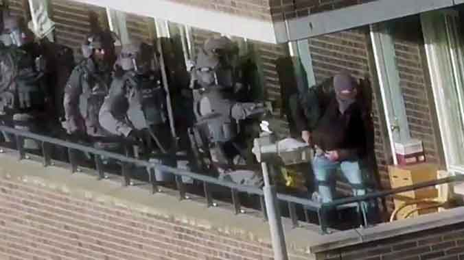 Detienen a siete sospechosos yihadistas en Holanda
