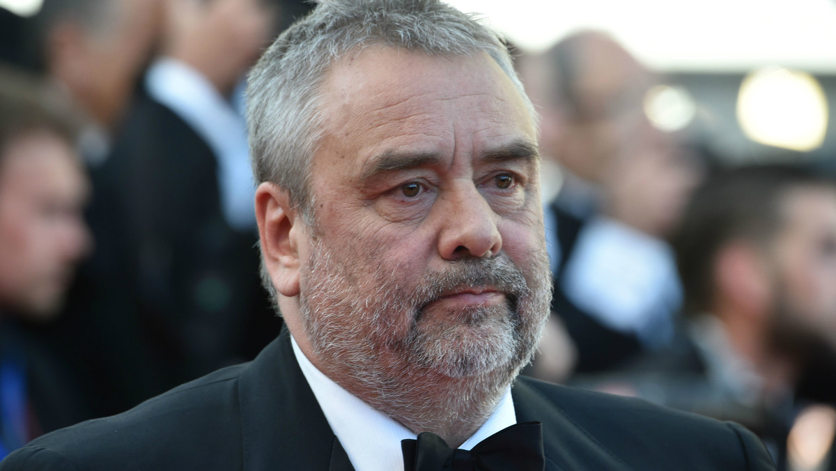 El director de cine francés Luc Besson en la presentación de la película Diré tu nombre.