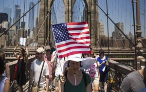 Aumenta la población de los Estados Unidos en la última década.