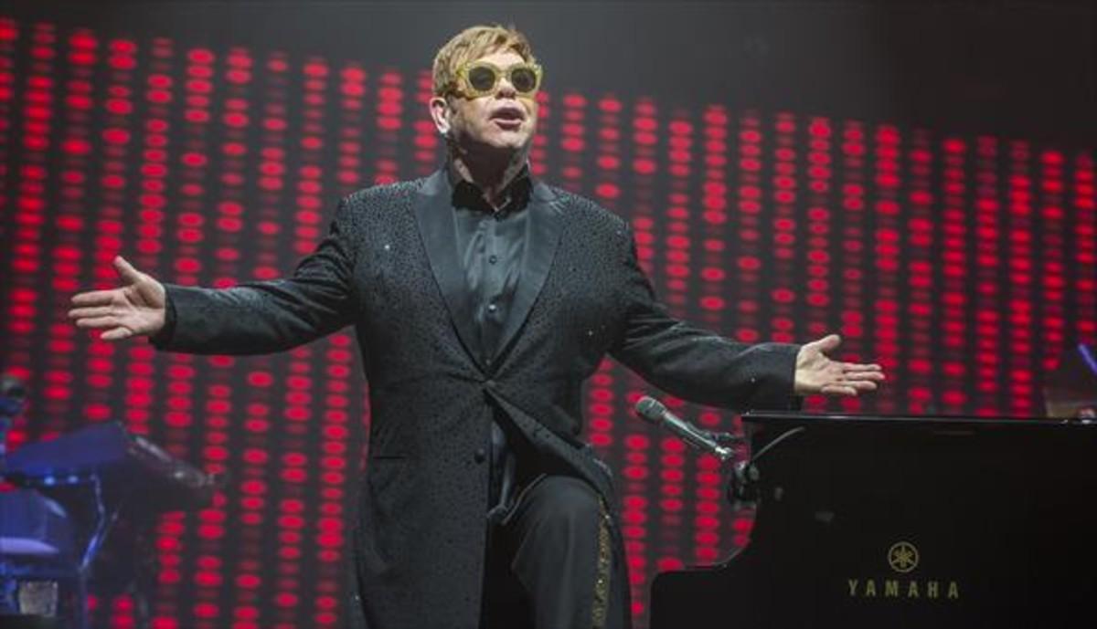Elton John, en el Palau Sant Jordi.