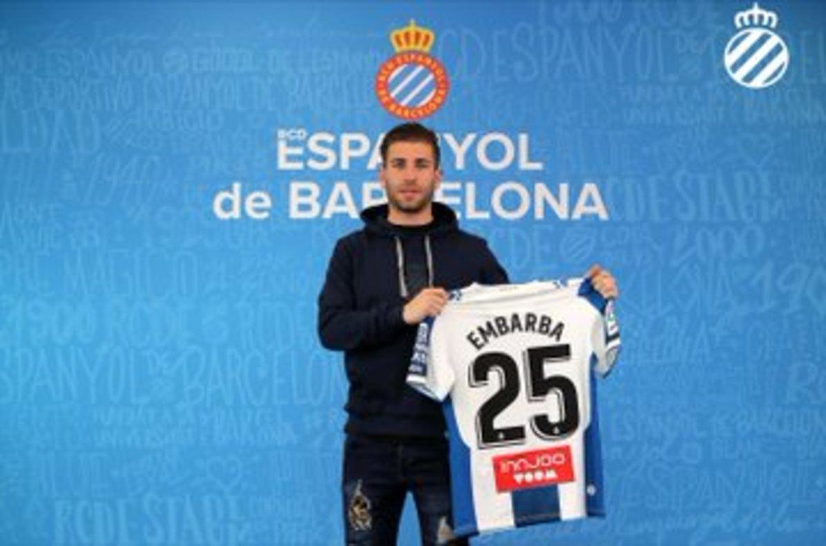 L'Espanyol oficialitza el fitxatge d'Embarba