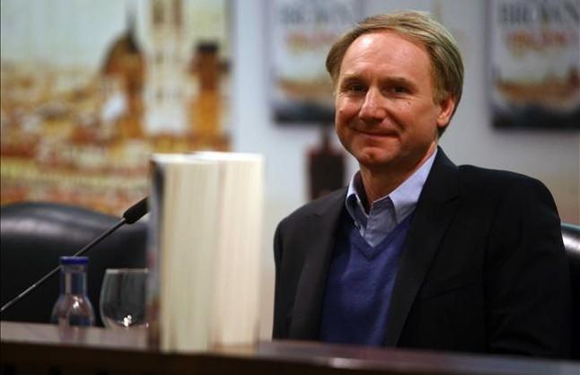 El escritor Dan Brown, en Madrid.