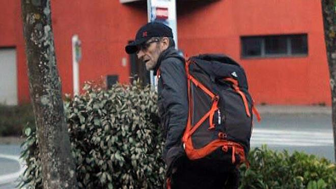 Josu Ternera, el pasado 16 de mayo, antes de su detención.
