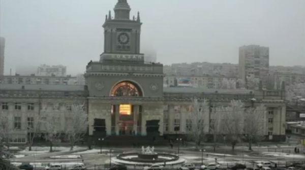 La explosión que ha tenido lugar en una estación de tren de Volgogrado.