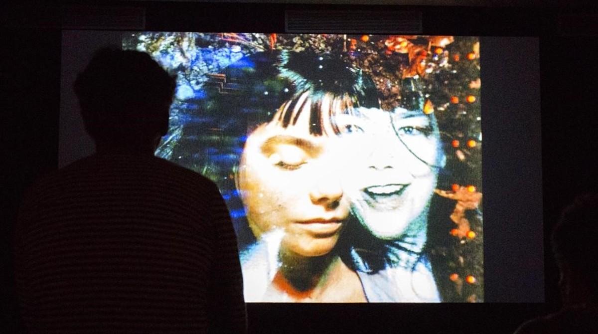 Exposición 'Björk Digital' en el CCCB.