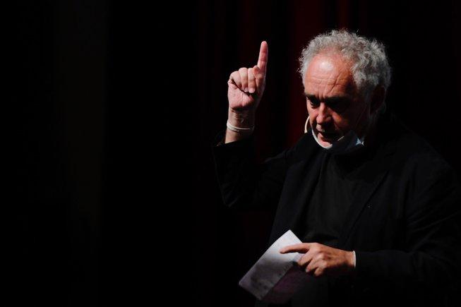 Ferran Adrià, en el FHG Forum, este lunes.
