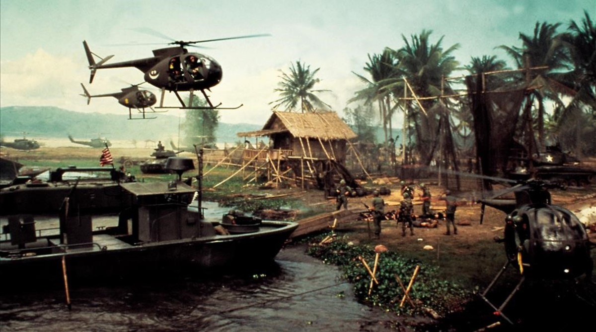 Fotograma de Apocalyse now, cuyo guion fue obra de Michael Herr.
