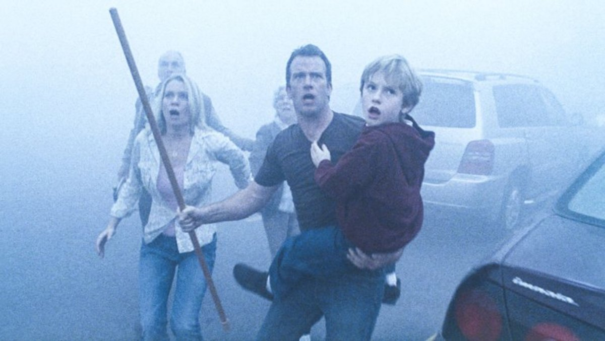 Un fotograma de 'La niebla', de Frank Darabont