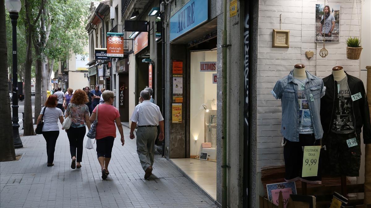 El comerç de proximitat de Barcelona es posa les piles