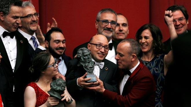 El reino suma 7 premios Goya pero Campeones se lleva el de mejor película.