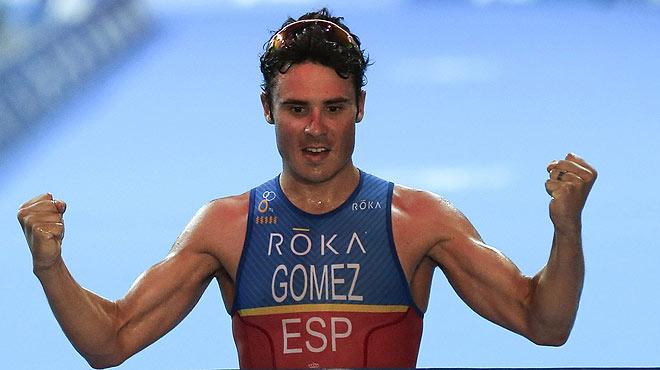 El atleta Javier Gómez Noya, premiado con el Princesa de Asturias a los Deportes 2016.