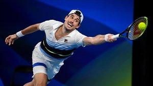 Guido Pella, el tenista argentino.