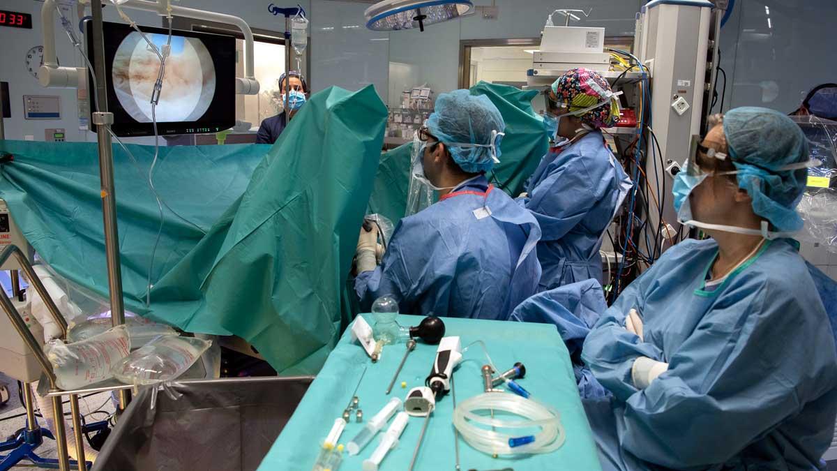 video cirugía de próstata con láser