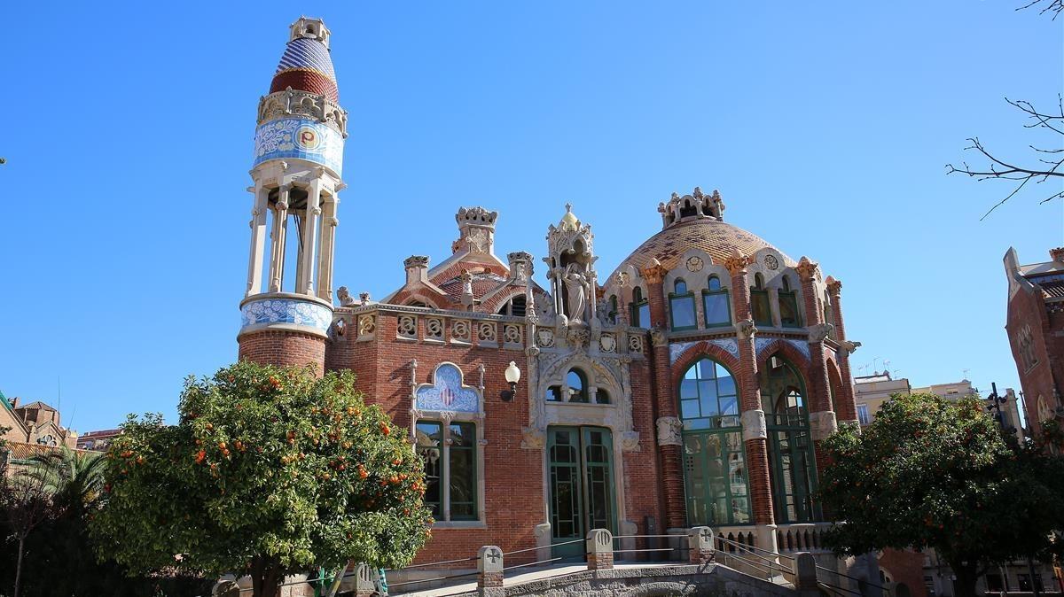 Recinte Modernista de Sant Pau, en Barcelona.