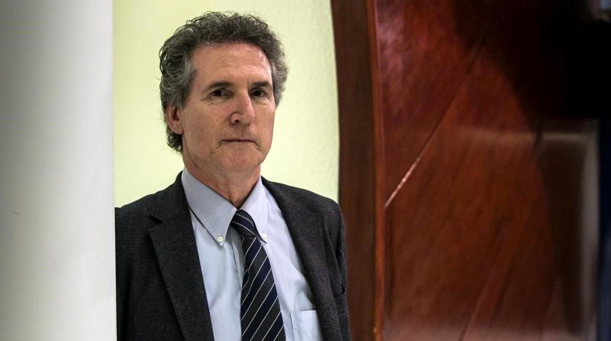 Kieran McGrath en la VII Jornada de Criminología de la UOC.