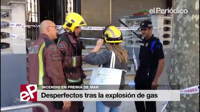 Unas 50 personas pasan la noche fuera de casa tras la explosión de Premià de Mar