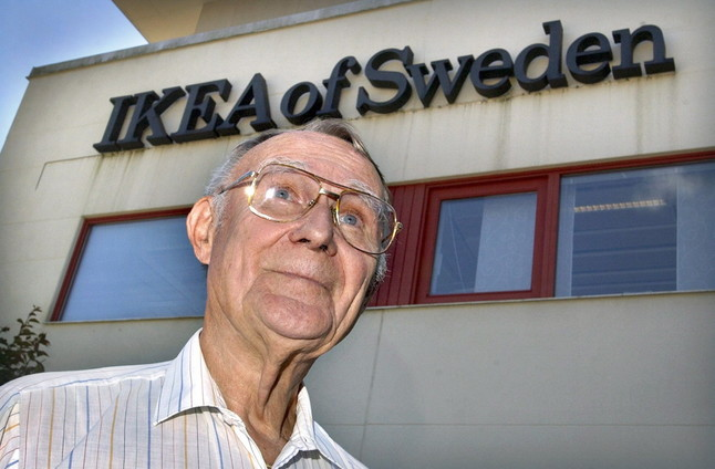 Ingvar Kamprad, el fundador de Ikea, en una imagen del 2002.