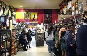 L'exhumació de Franco i el procés animen les vendes als bars franquistes