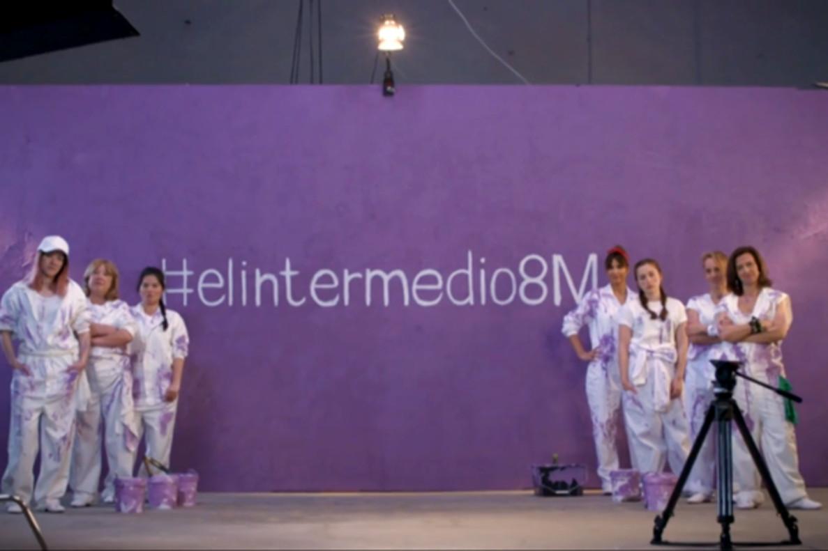 Las mujeres de 'El Intermedio' se suman a la huelga del 8M a través de un emotivo vídeo
