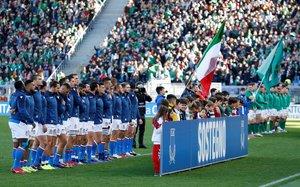 Irlanda e Italia, en el Estadio Olímpico de Roma, el año pasado.