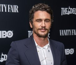 FILE - This Sept. 5, 2019 file photo shows James Franco at the premiere of HBO's The Deuce third and final season in New York. Two actresses have sued Franco and his former acting and film school, saying they were pushed into gratuitous and exploitative sexual situations as his students. (Photo by Charles Sykes/Invision/AP, File)