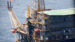 El Govern prorroga la llicència de la plataforma petroliera Casablanca