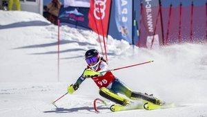 Núria Pau, l'esquiadora d'anada i tornada