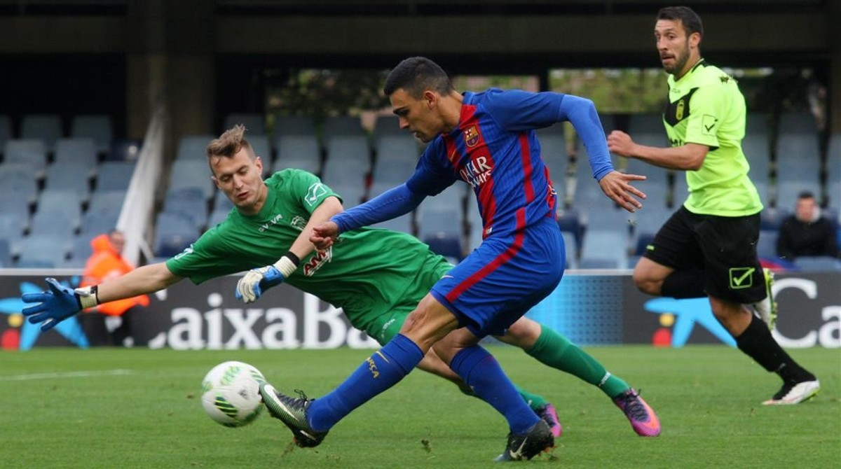 Escandalosa golejada per 12-0 del Barça B a l'Eldenc