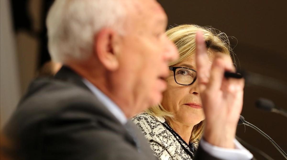 Margallo defensa requisar urnes i intervenir els Mossos si se celebra el referèndum