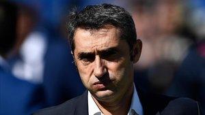 Valverde: «Això de Dembélé ha sigut per precaució»