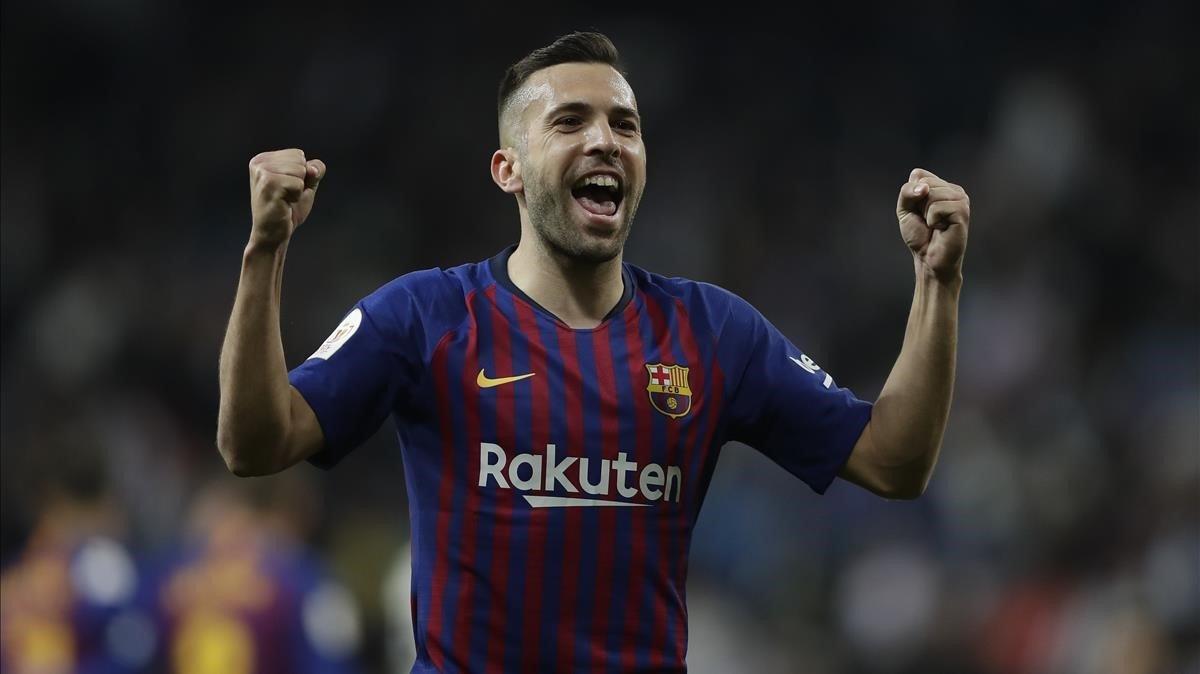 Jordi Alba hasta 2024 - 28/02/2019 - Olé