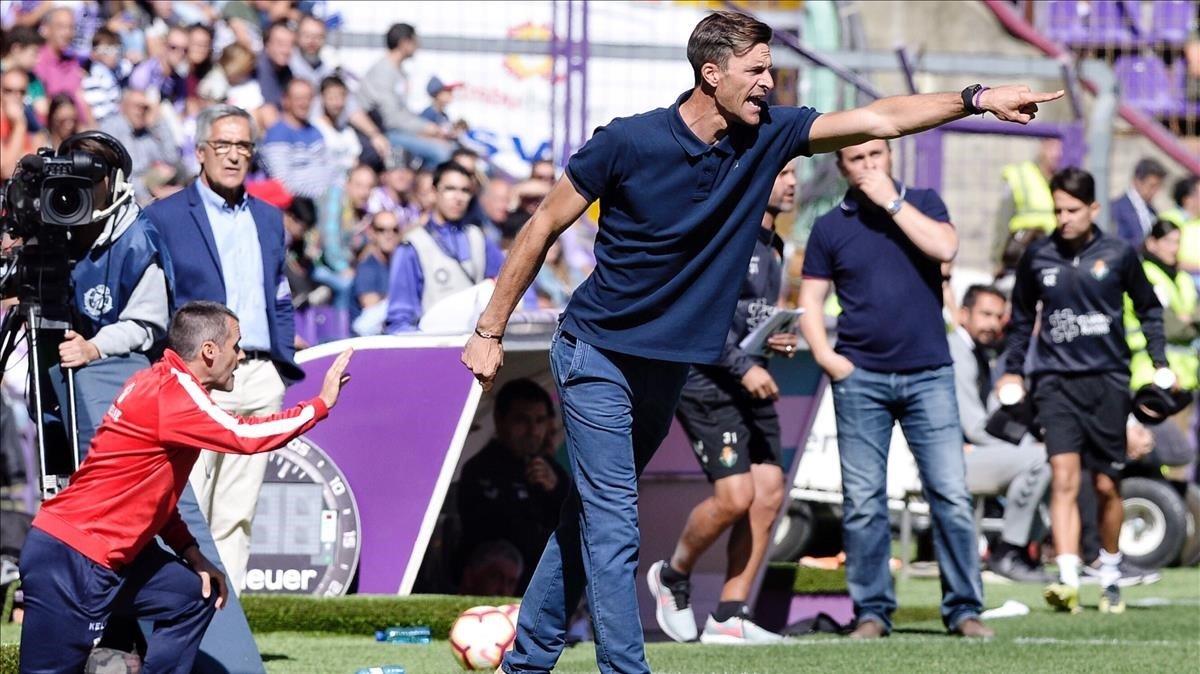 Leo Franco, en un partido del Huesca.
