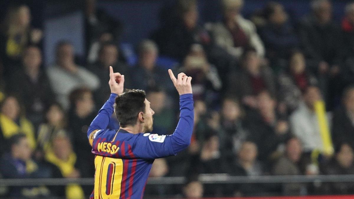 Leo Messi espera celebrar en Old Trafford algún gol que acerque al Barcelona a esa copa tan linda