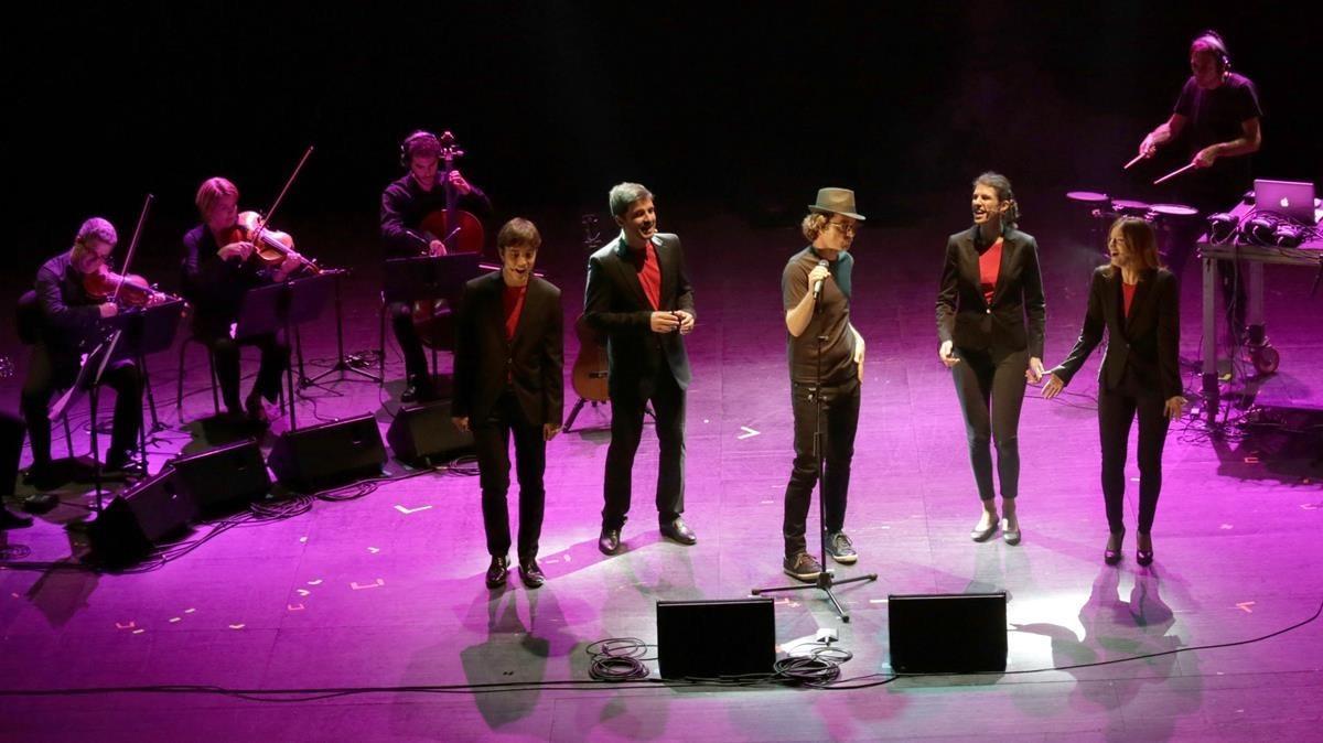 'Leon', con The Pinker Tones y el Quartet Brossa, en Vic