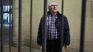 Lluís Torres, voluntario en la prisión Brians 1.