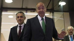 Los abogados de la infanta, Jesús Silva y Miquel Roca.