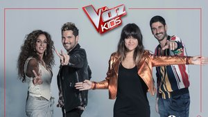 Los coaches de 'La voz kids'.