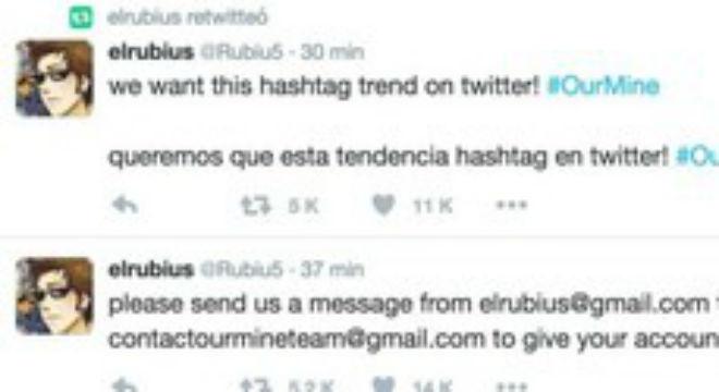 'Hackeada' la cuenta de 'El Rubius' en Twitter durante unos minutos