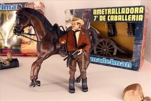 Un Madelman, uno de los juguetes más carismáticos de producción española de los años 70.