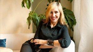 Marta Robles, el pasado miércoles, en Barcelona.