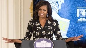 Michelle Obama, en un evento en la Casa Blanca, en Washington, este martes.